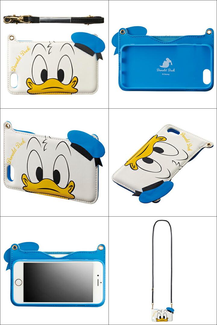 34d6cf63b8 ドナルドダック Donald Duck iPhone6 ケース i6S-DN34 ダイカット 【 アイフォン スマホケース スマートフォン カバー  ドナルドダック ディズニー ショルダー ...