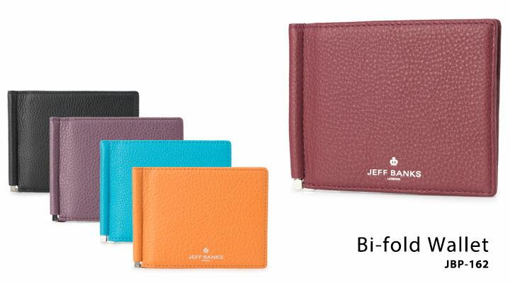 cae31583cc9f ジェフバンクス JEFF BANKS 二つ折り財布 JBP-162 カラーズ 【 札入れマネークリップ メンズ レザー 】 の通販 | SAC'S  BAR サックスバー