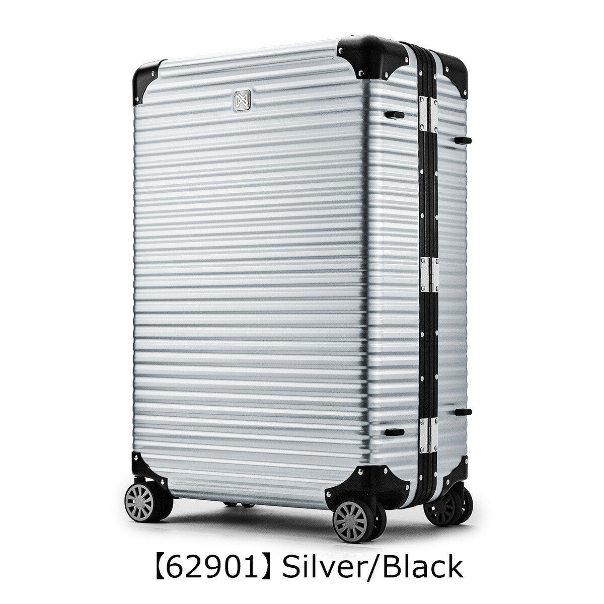 【62901】Silver/Black