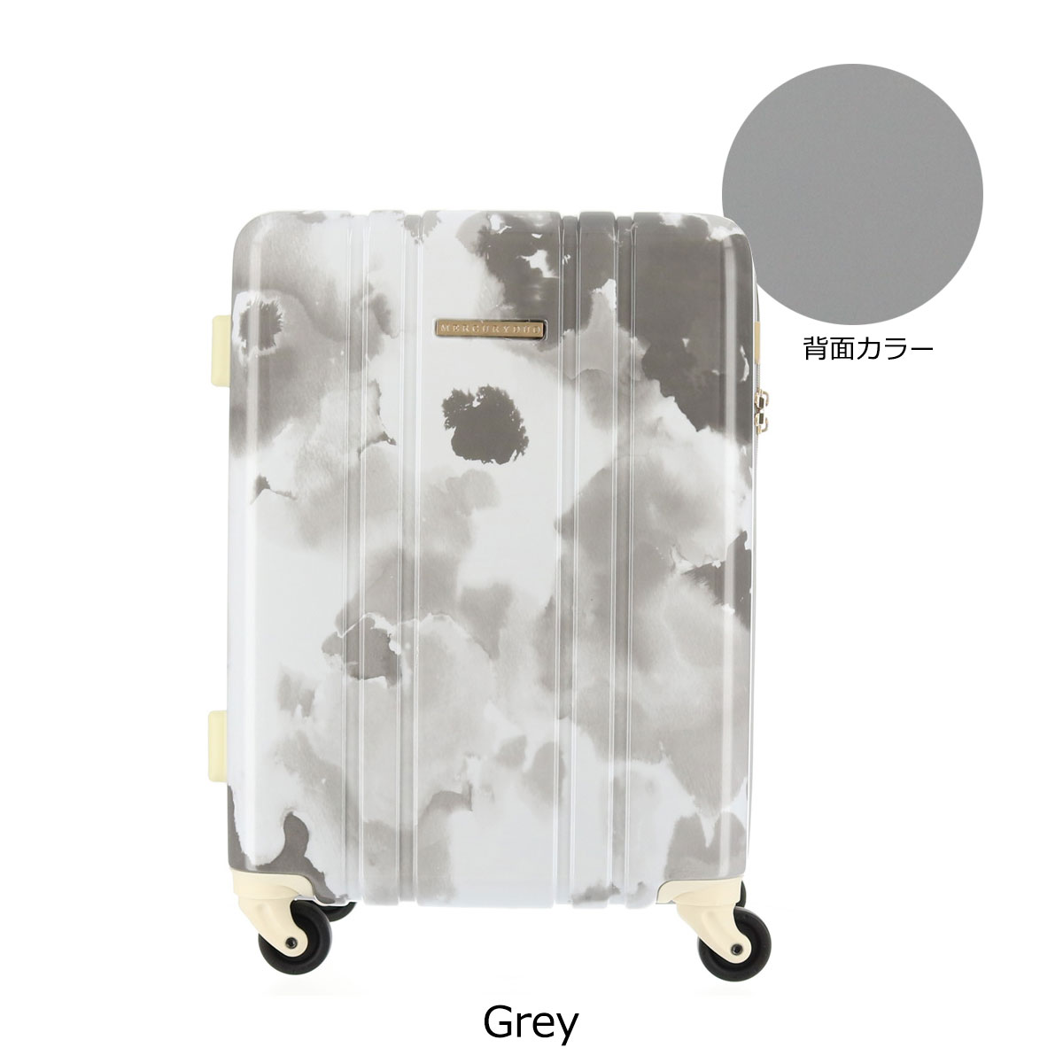b8d79534c1 マーキュリーデュオ スーツケース 37L 48cm 2.9kg ハード ファスナー ...