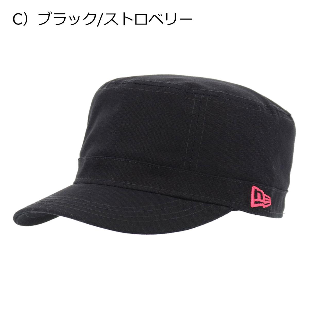 C)ブラック/ストロベリー
