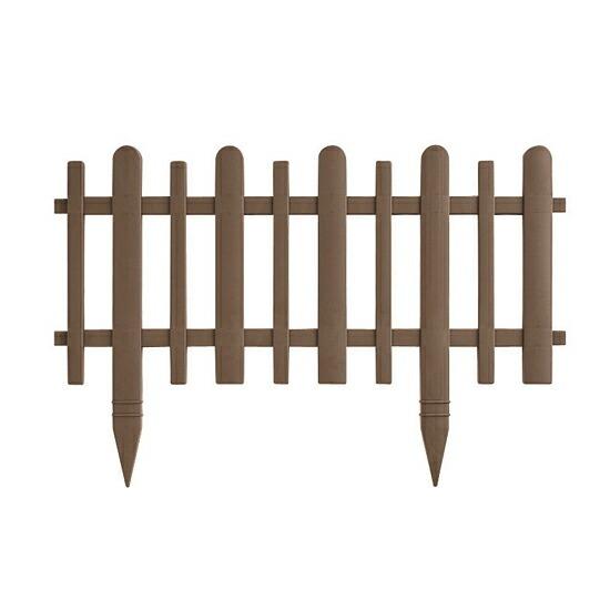 ガーデンフェンス かきね 60H型 ブラウン(BR)