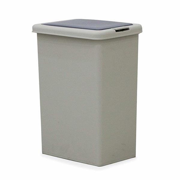 ゴミ箱 45リットル ブッシュ式 蓋付き シンプル 分別 便利 ペール ゴミ箱のみ販売 選べる2タイプ 2分別 3分別 おしゃれ 容量45リットル キッチン収納 ダストボックス 完成品 大川家具 楽天 送料無料