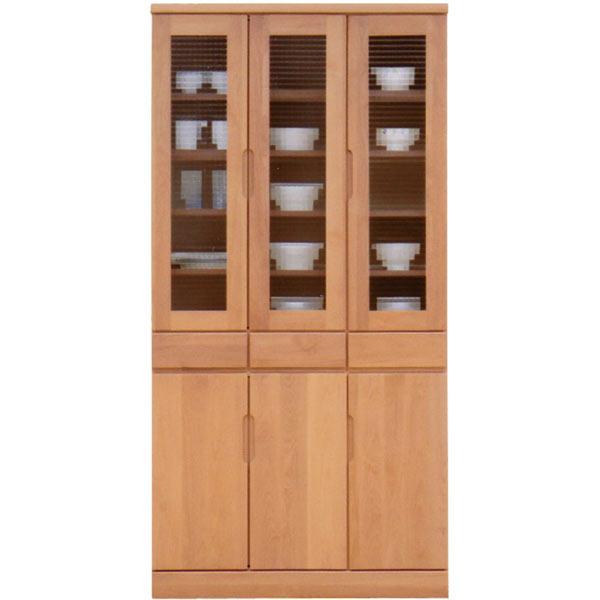 食器棚 幅90cm 90cm キッチンボード ダイニングボード キッチン収納 開き戸 シンプル モダン 北欧 木製 完成品 日本製 送料無料