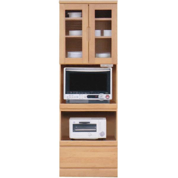 食器棚 レンジ台 幅60cm 60cm レンジボード キッチンボード ダイニングボード キッチン収納 開き戸 シンプル モダン 北欧 木製 完成品 日本製 送料無料