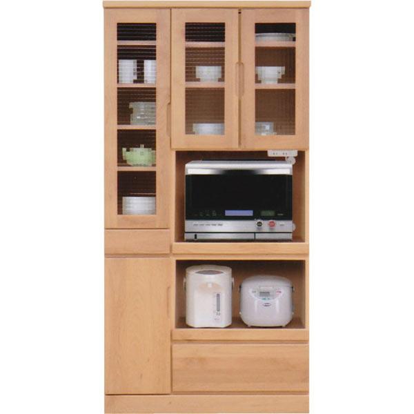 食器棚 レンジ台 幅90cm 90cm レンジボード キッチンボード ダイニングボード キッチン収納 開き戸 シンプル モダン 北欧 木製 完成品 日本製 送料無料