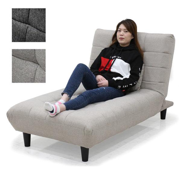 ソファーベッド シングルサイズ 1人掛け コンパクト 幅90 クッション1個付き 脚部取り外し可能 ファブリック生地 選べる2色 ダークグレー ライトグレー シングルベッド 座椅子 楽天 送料無料