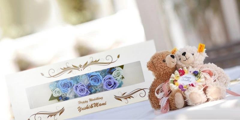 結婚式受け付けでの使用風景イメージ