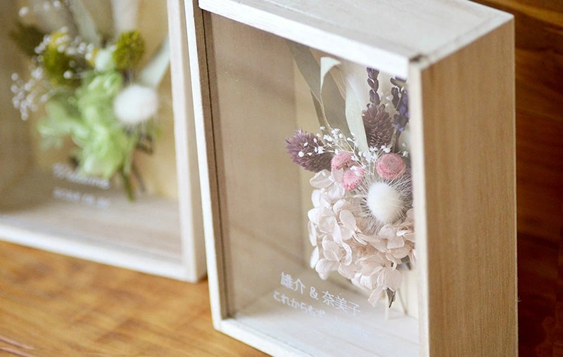 枯れないお花のプリザーブドフラワードライフラワーの拡大写真真