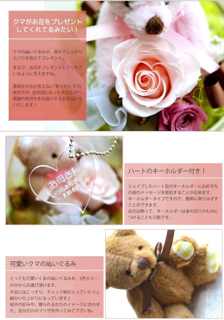 メッセージ入れ花ギフト画像2