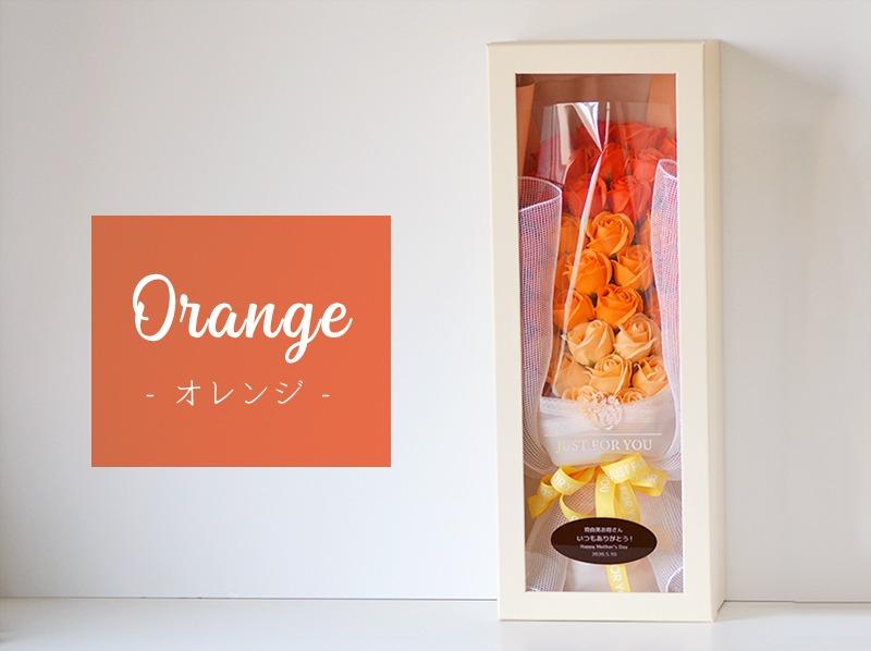 オレンジ色見本