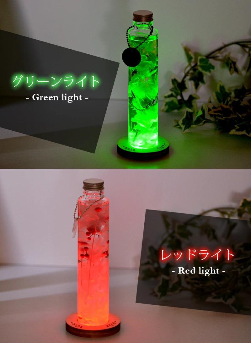 グリーンライトとレッドライトの点灯イメージ画像