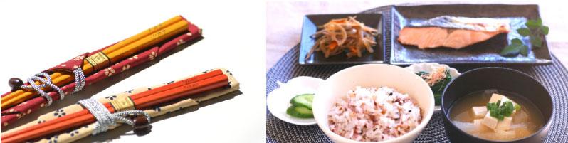 若草箸の食卓使用したイメージ画像