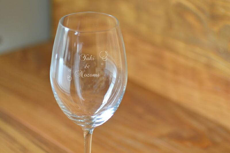 名入れできるワイングラスメイン画像