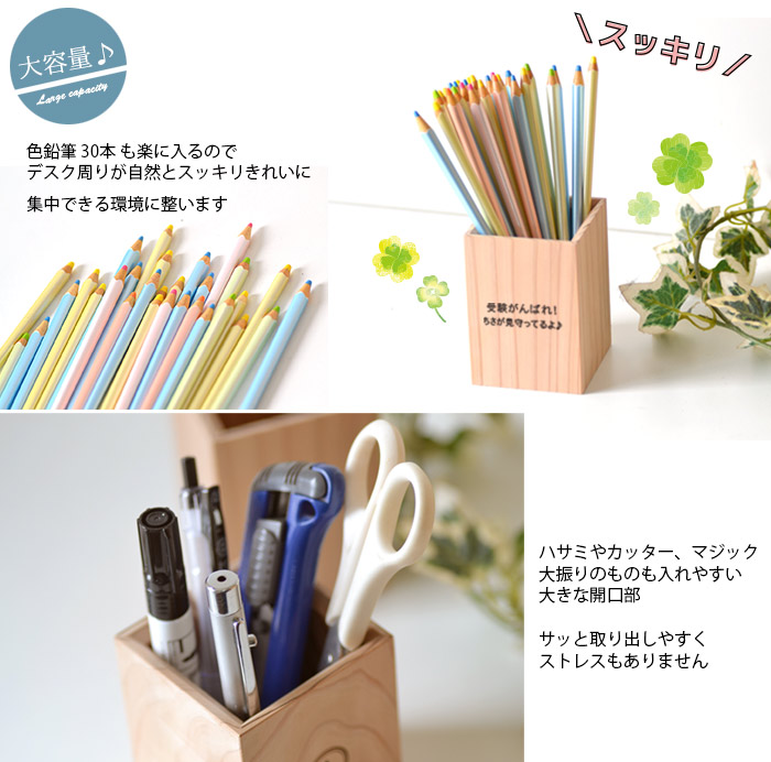 色鉛筆30本も楽に入る!