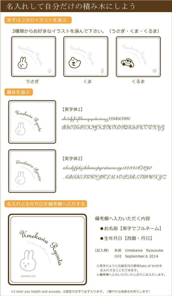 フタのデザイン3種