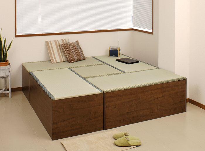 収納付き高床式ユニット畳