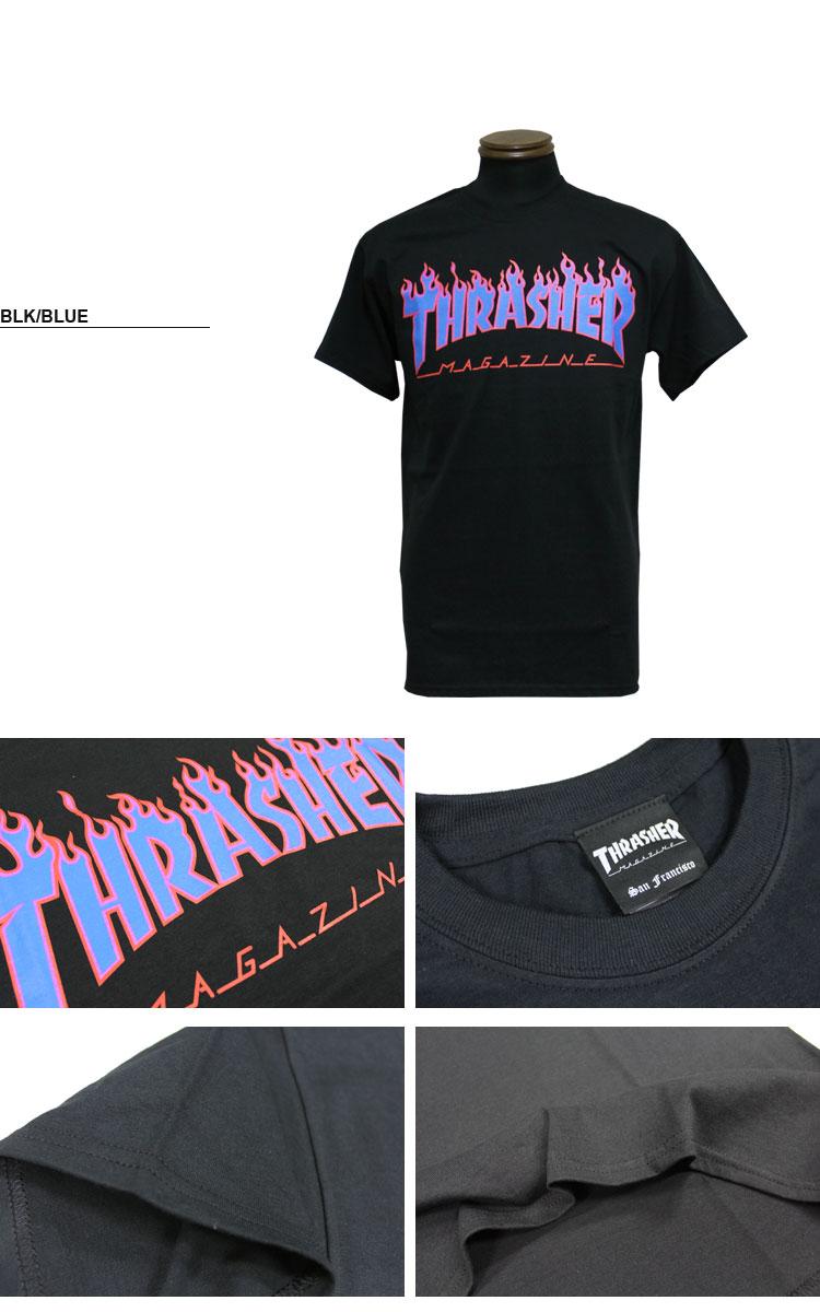 スケーターブランド「THRASHER MAGAZINE」のTシャツ