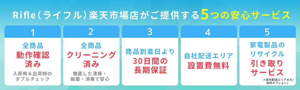 5つの安心宣言
