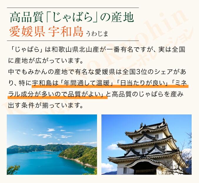 高品質「じゃばら」の産地、愛媛県宇和島