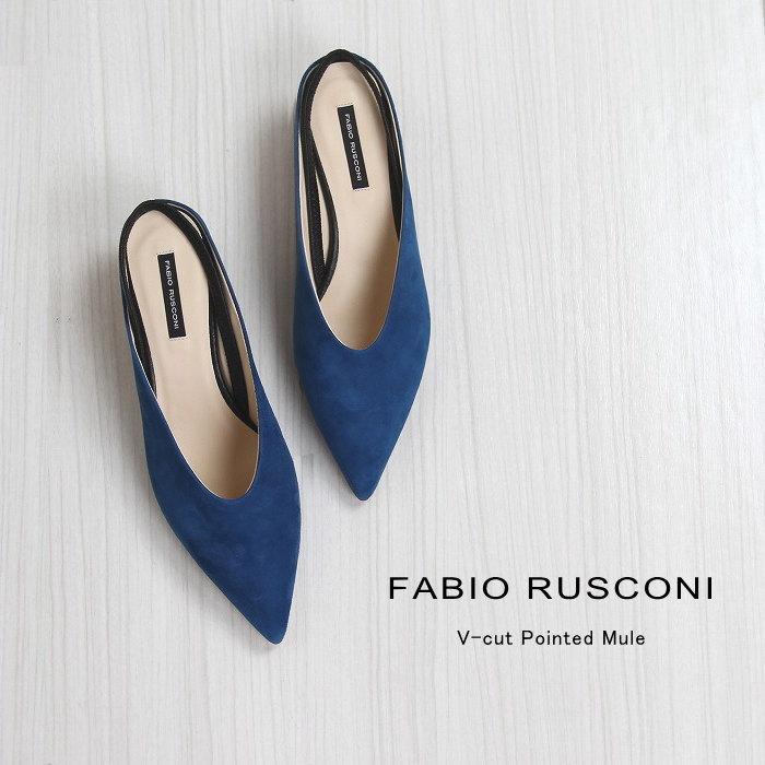 FABIO RUSCONI ファビオルスコーニ GAB-E-1268 ポインテッドミュール