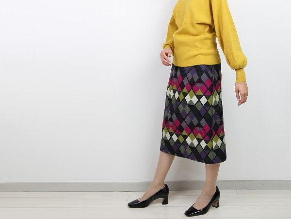 Hermaphroditeエルマフロディット 591-7290201 細身スカート 商品詳細