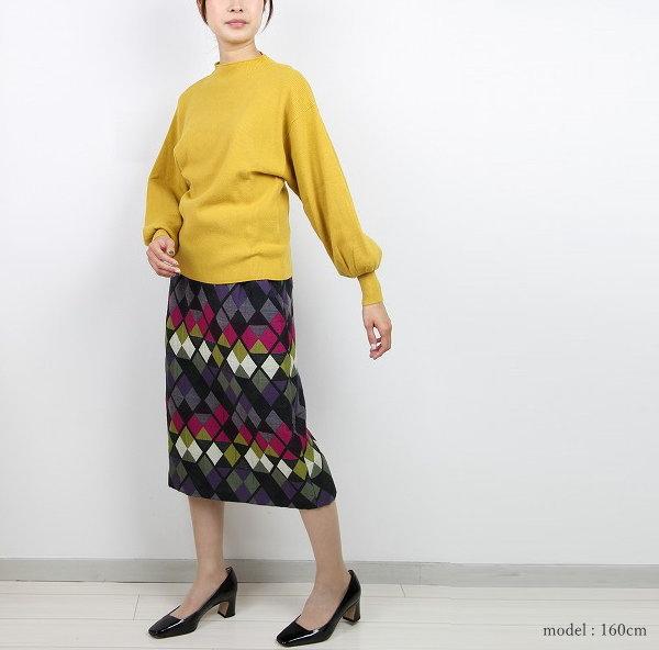 Hermaphroditeエルマフロディット 591-7290201 膝下スカート 商品詳細