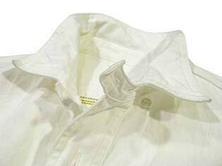 サニースポーツ シャンブレーシャツ ホワイト