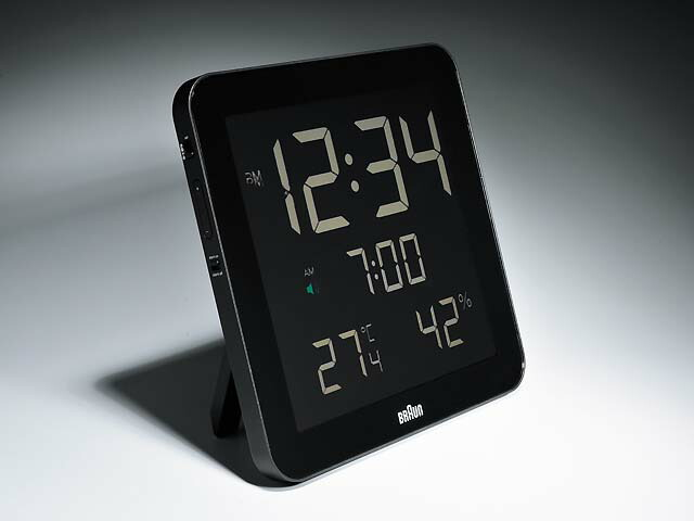 時計、オートカレンダー、温度、湿度
