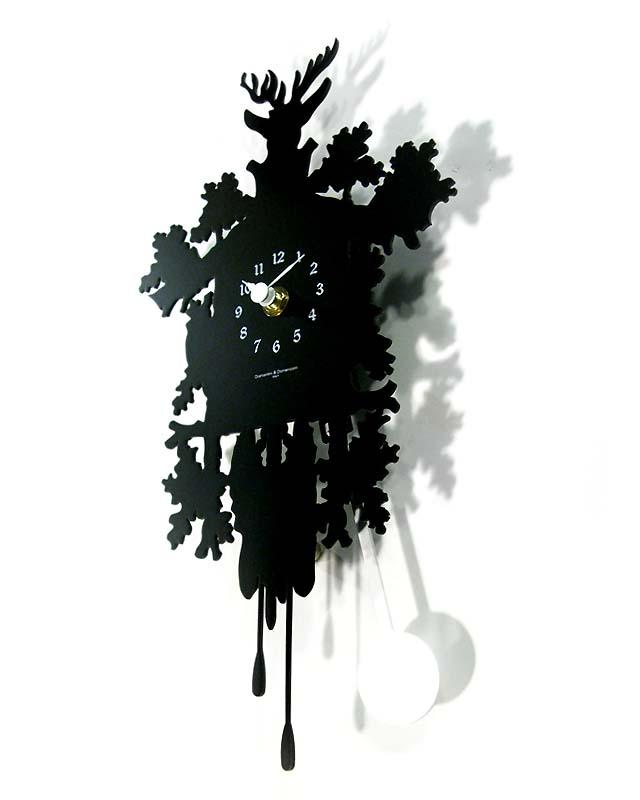 Mini Cuckoo Forest Clock
