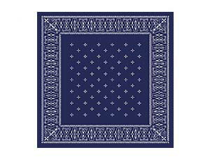 CROSS BANDANA RUG