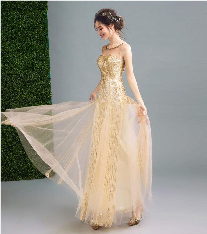 Riricollection: Wedding Dress Gold Glitter GOLD Go