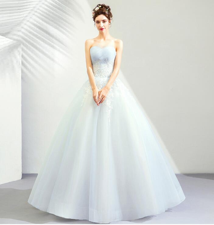Light Wedding Dresses For Abroad