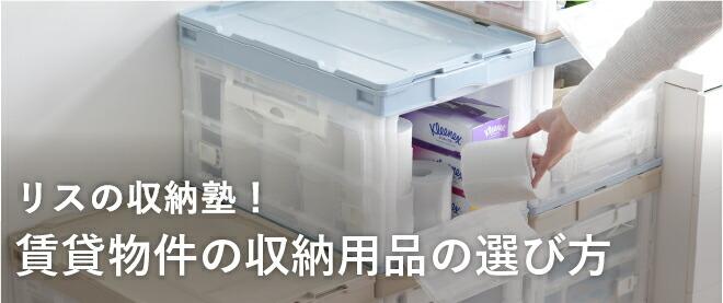 リスの収納塾 -賃貸編-