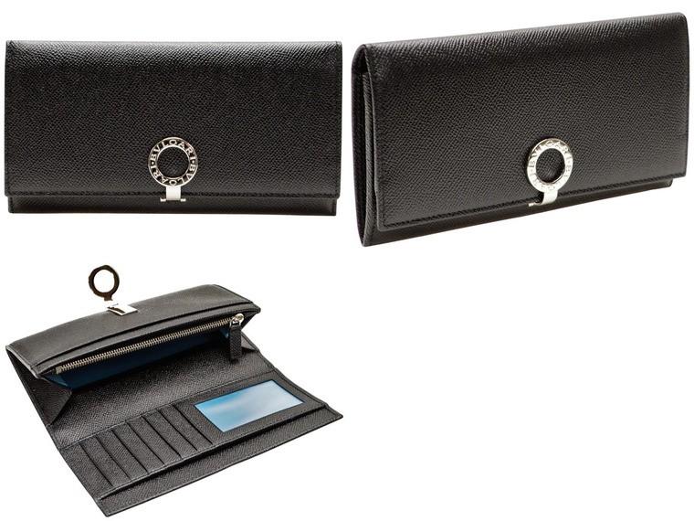 26d21c5d869d BVLGARI [ サイフ ] ブルガリ財布クリップモチーフのブルガリリングロゴマークが特徴の多機能な長財布 です。収納ポケットも多く、カードが多い方にもおすすめ。