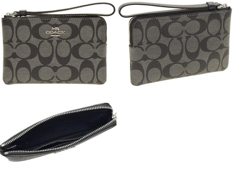 1e23fac2118d コーチ/COACH [ ポーチ ] 小物入れ 内側にカードポケットがありそのままお財布変わりにお使いいただけそうな一品です。ギフトにもおすすめ。