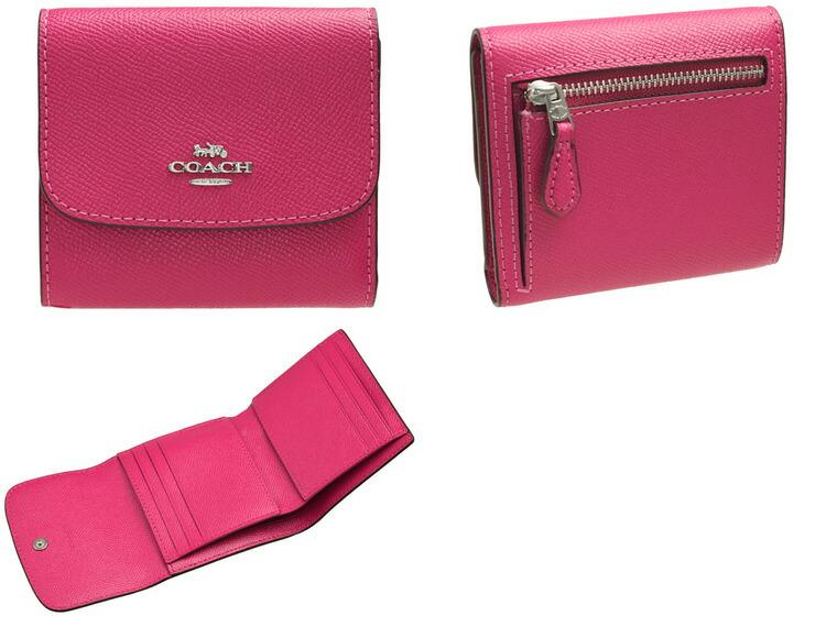 f3826b667f72 コーチ/COACH [ サイフ ] 財布 小さめバッグにも収納できる二つ折り財布。シンプルなフラップデザインの小銭入れは広く、使いやすさにもこだわり、 カードポケットも ...
