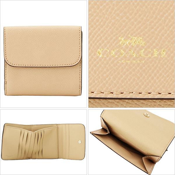 61f6d303b929 COACH [ サイフ ] コーチ 二つ折り財布小さめバッグにも収納できる二つ折り財布。シンプルなフラップデザインの小銭入れは広く、使いやすさに もこだわり、カード ...