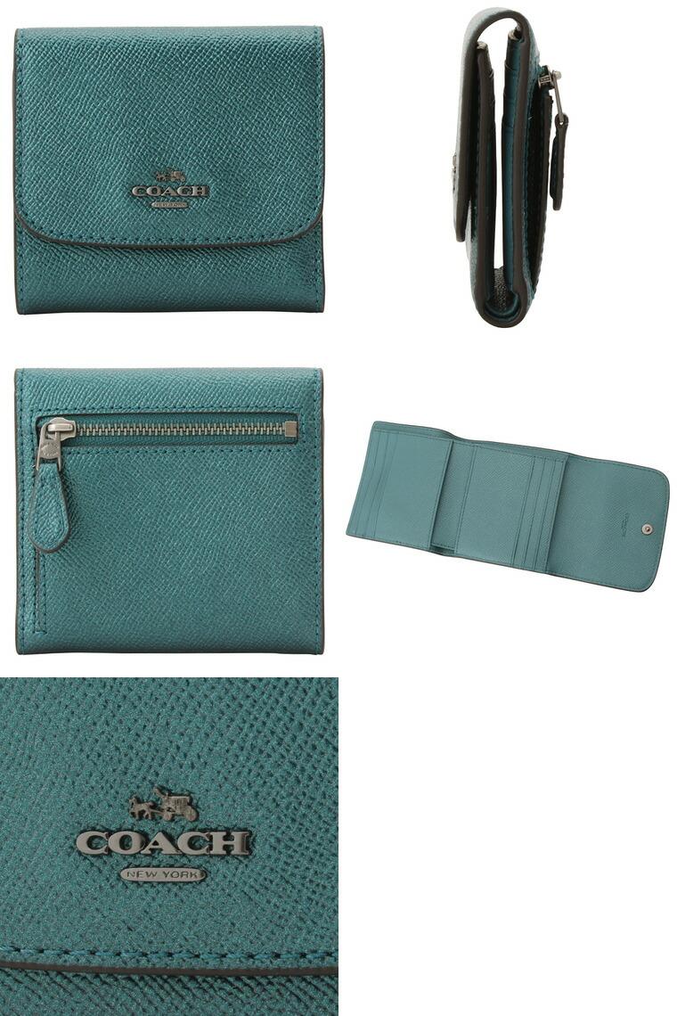 7bf9e9d2c190 COACH[サイフ]コーチ 財布小さめバッグにも収納できる二つ折り財布。シンプルなフラップデザインの小銭入れは広く、使いやすさにもこだわり、 カードポケットも充実。