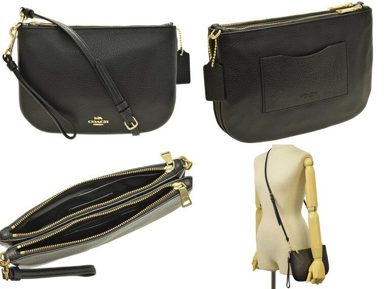 04ee31b24356 コーチ/COACH [ カバン ] 鞄 手触りの良い柔らかいレザーのショルダーバッグです。クラッチバッグとしてもお使いいただけます。