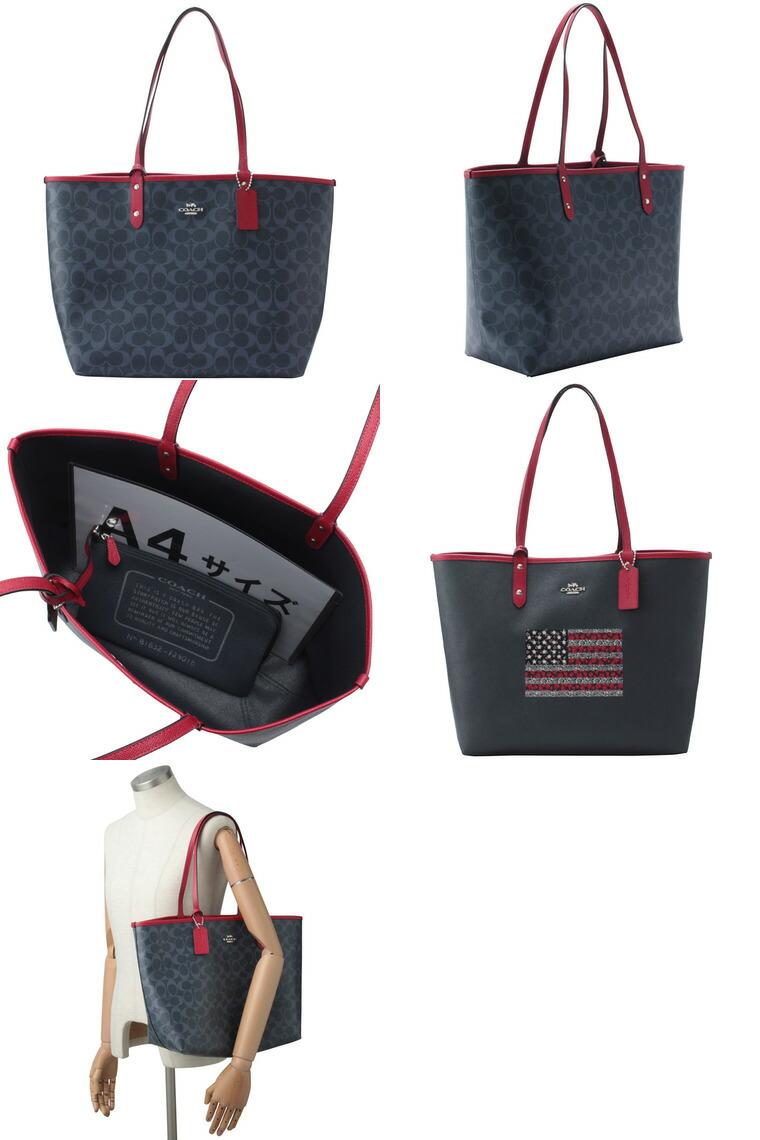 006bd967e599 コーチ/COACH [ カバン ] 鞄 1つで2wayのバッグが楽しめるリバーシブルA4対応 トートバッグです。マチもしっかりとあるので、書類や大きめの荷物もしっかりと収納可能!