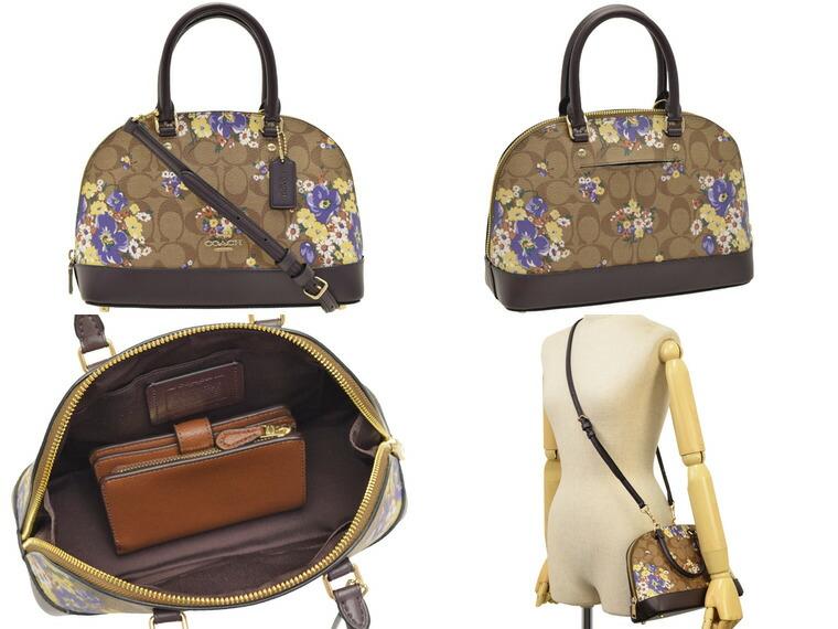 7c442cf16c4d コーチ/COACH [ カバン ] 鞄  上品な印象のドーム型デザインは丸みがあり、女性らしさもプラス。フォーマルなスタイルにも合わせやすいので、ナイトシーンにも◎