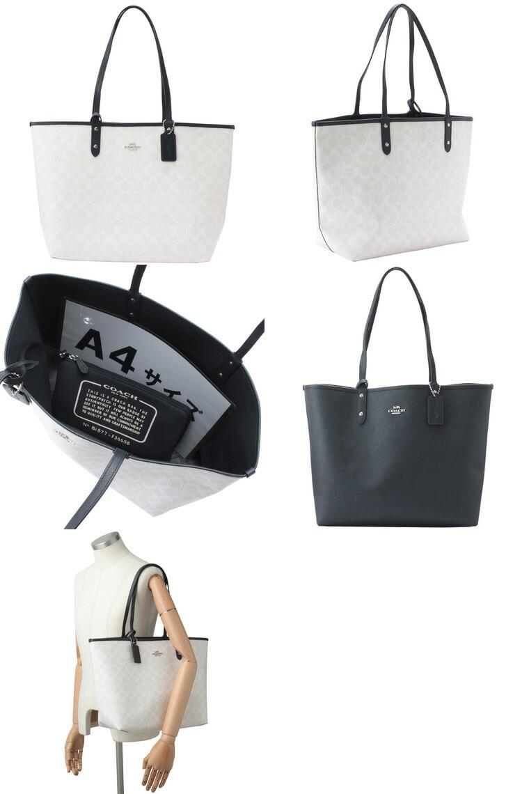 daf6c30782e7 コーチ/COACH [ カバン ] 鞄 1つで2wayのバッグが楽しめるリバーシブルA4対応トートバッグです。マチもしっかりとあるので、書類や大きめの 荷物もしっかりと収納可能!