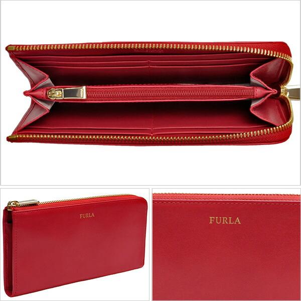 6431f4bf4e72 FURLAサイフ[フルラ]財布上質なレザーはキズがつきにくく、長く愛用できるアイテムです。シンプルなデザインにフロントのロゴがアクセント。開けると一目で見渡せる  ...