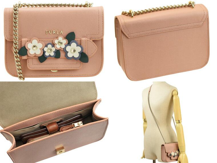 84eff4286dac フルラ/FURLA [ カバン ] 鞄 carol s トレンド感のあるデザインにお花をあしらったショルダーバッグ。