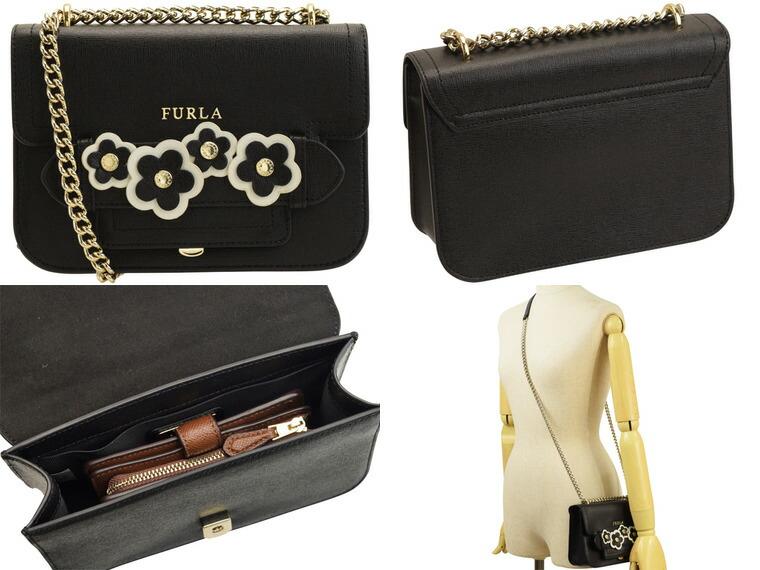 4cd5f52a6c42 フルラ/FURLA [ カバン ] 鞄 carol s トレンド感のあるデザインにお花をあしらったショルダーバッグ。