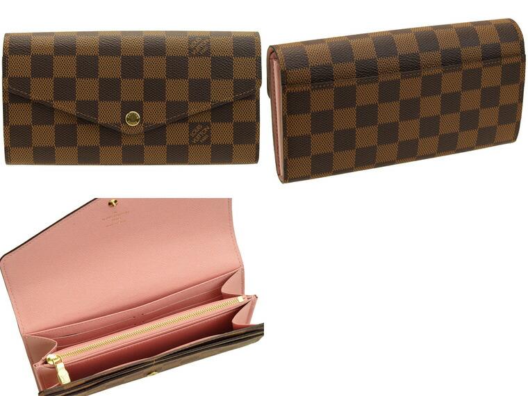 big sale c90ce fa19a ルイヴィトン LOUIS VUITTON 二つ折り長財布 財布·ケース n60114 ...