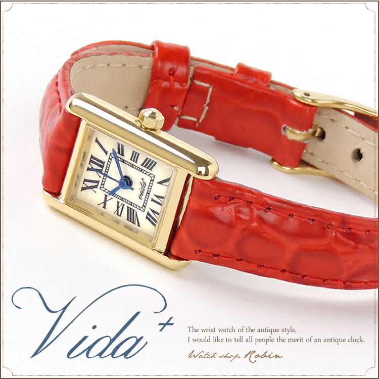 VIDA+ Mini Rectangular レディース腕時計