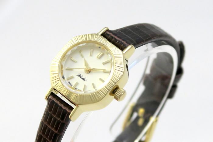 Vida+ レディース腕時計 〈アーモンドケース〉
