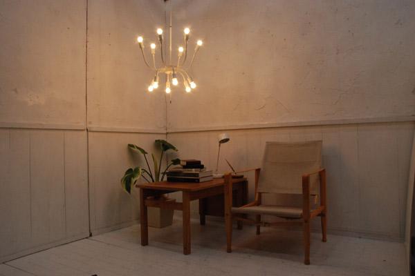 WARP (ワープ) ペンダントライト・ホワイト INTERFORM (インターフォルム) 天井照明